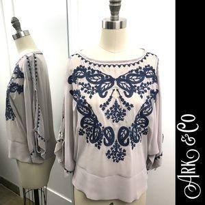 ARK & CO Bohemian style blouse